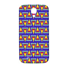 Seamless Prismatic Pythagorean Pattern Samsung Galaxy S4 I9500/i9505  Hardshell Back Case