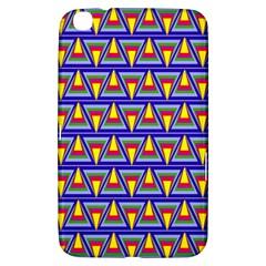 Seamless Prismatic Pythagorean Pattern Samsung Galaxy Tab 3 (8 ) T3100 Hardshell Case