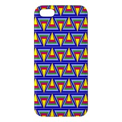 Seamless Prismatic Pythagorean Pattern Iphone 5s/ Se Premium Hardshell Case by Nexatart