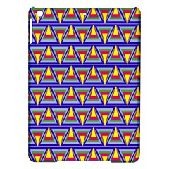 Seamless Prismatic Pythagorean Pattern Ipad Air Hardshell Cases by Nexatart