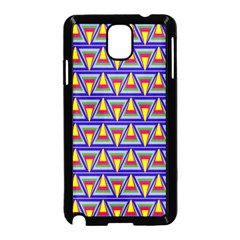 Seamless Prismatic Pythagorean Pattern Samsung Galaxy Note 3 Neo Hardshell Case (black)