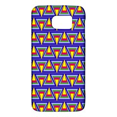 Seamless Prismatic Pythagorean Pattern Galaxy S6 by Nexatart