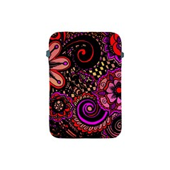 Sunset Floral Apple Ipad Mini Protective Soft Cases by Nexatart
