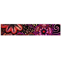 Sunset Floral Flano Scarf (large)