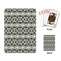 Abstract Camouflage Playing Card by dflcprints