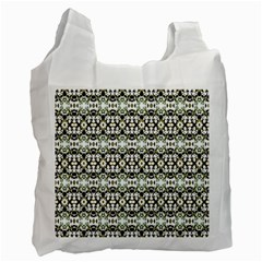 Abstract Camouflage Recycle Bag (one Side) by dflcprints