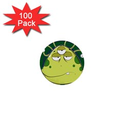 The Most Ugly Alien Ever 1  Mini Buttons (100 Pack)  by Catifornia