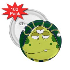 The Most Ugly Alien Ever 2 25  Buttons (100 Pack)  by Catifornia