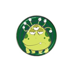 The Most Ugly Alien Ever Hat Clip Ball Marker (10 Pack) by Catifornia