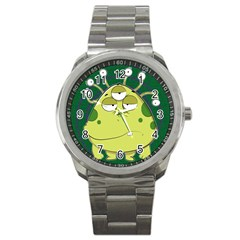 The Most Ugly Alien Ever Sport Metal Watch by Catifornia