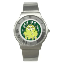 The Most Ugly Alien Ever Stainless Steel Watch by Catifornia