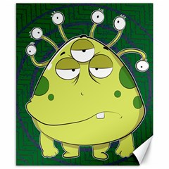 The Most Ugly Alien Ever Canvas 8  X 10  by Catifornia