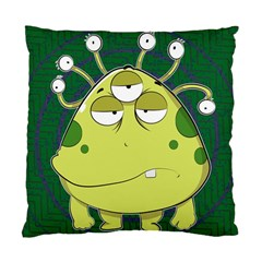 The Most Ugly Alien Ever Standard Cushion Case (two Sides) by Catifornia