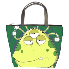 The Most Ugly Alien Ever Bucket Bags by Catifornia