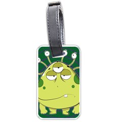 The Most Ugly Alien Ever Luggage Tags (two Sides) by Catifornia