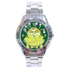 The Most Ugly Alien Ever Stainless Steel Analogue Watch by Catifornia