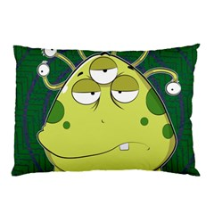 The Most Ugly Alien Ever Pillow Case (two Sides) by Catifornia