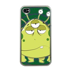 The Most Ugly Alien Ever Apple Iphone 4 Case (clear) by Catifornia