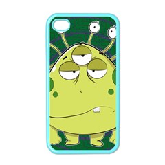 The Most Ugly Alien Ever Apple Iphone 4 Case (color)