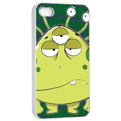 The Most Ugly Alien Ever Apple Iphone 4/4s Seamless Case (white)