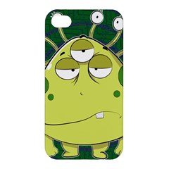 The Most Ugly Alien Ever Apple Iphone 4/4s Hardshell Case by Catifornia