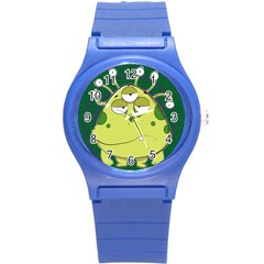 The Most Ugly Alien Ever Round Plastic Sport Watch (s) by Catifornia