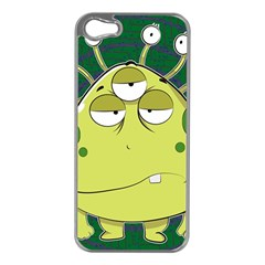 The Most Ugly Alien Ever Apple Iphone 5 Case (silver) by Catifornia