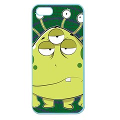 The Most Ugly Alien Ever Apple Seamless Iphone 5 Case (color) by Catifornia