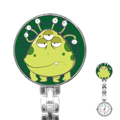 The Most Ugly Alien Ever Stainless Steel Nurses Watch by Catifornia