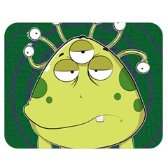 The Most Ugly Alien Ever Double Sided Flano Blanket (medium)  by Catifornia