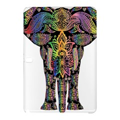 Prismatic Floral Pattern Elephant Samsung Galaxy Tab Pro 10 1 Hardshell Case