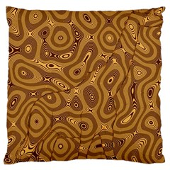 Giraffe Remixed Large Cushion Case (two Sides) by Nexatart