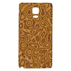 Giraffe Remixed Galaxy Note 4 Back Case by Nexatart