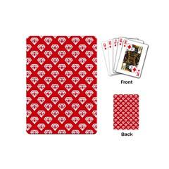 Diamond Pattern Playing Cards (mini)  by Nexatart