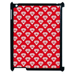 Diamond Pattern Apple Ipad 2 Case (black)