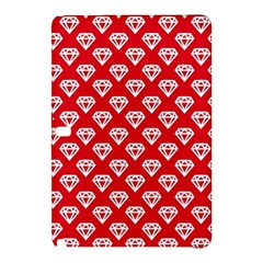 Diamond Pattern Samsung Galaxy Tab Pro 12 2 Hardshell Case by Nexatart