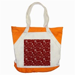 Merry Christmas Pattern Accent Tote Bag by Nexatart