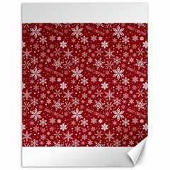 Merry Christmas Pattern Canvas 12  X 16   by Nexatart