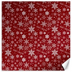 Merry Christmas Pattern Canvas 16  X 16   by Nexatart