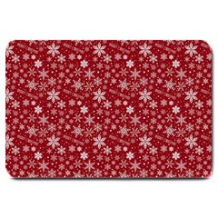 Merry Christmas Pattern Large Doormat  by Nexatart