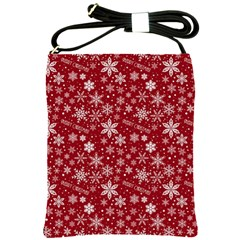 Merry Christmas Pattern Shoulder Sling Bags by Nexatart