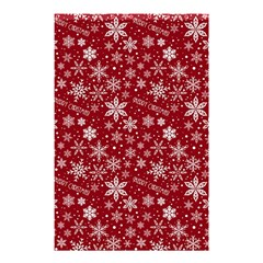 Merry Christmas Pattern Shower Curtain 48  X 72  (small)  by Nexatart