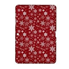 Merry Christmas Pattern Samsung Galaxy Tab 2 (10 1 ) P5100 Hardshell Case