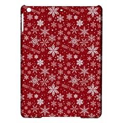 Merry Christmas Pattern Ipad Air Hardshell Cases by Nexatart