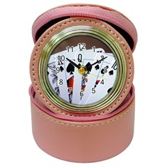 Royal Flush Poker Hand Cards Jewelry Case Clock by DesignMonaco