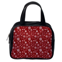 Merry Christmas Pattern Classic Handbags (one Side) by Nexatart