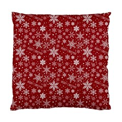 Merry Christmas Pattern Standard Cushion Case (two Sides) by Nexatart