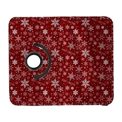 Merry Christmas Pattern Galaxy S3 (flip/folio) by Nexatart