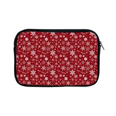 Merry Christmas Pattern Apple Ipad Mini Zipper Cases by Nexatart