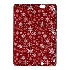 Merry Christmas Pattern Kindle Fire Hdx 8 9  Hardshell Case